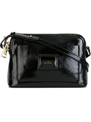Hogan Top Zip Crossbody Bag Black