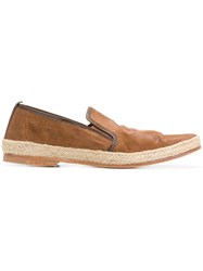 N.D.C. Made By Hand Slip On Loafers Brown