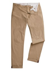 Ben Sherman Men's Skinny Stretch Chino Stone