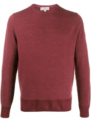 Canali Long Sleeve Fitted Jumper 60