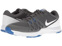 Nike Air Epic Speed Tr Ii Dark Grey Shite Hyper Cobalt Men's Cross Training Shoes Gray