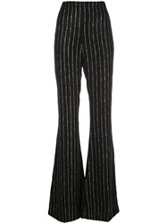 Christian Siriano Striped Wide Leg Trousers 60