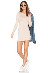 Blq Basiq Mini Long Sleeve Dress White