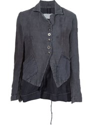 Greg Lauren Hand Dyed 'Dickens' Jacket Grey