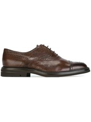 Henderson Baracco Classic Oxford Shoes Brown