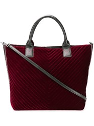 Pinko Quilted Tote Red