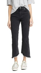 Joe's Jeans Callie Cropped Bootcut With Frayed Hem Audrey