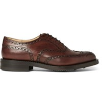 Church's Burwood Leather Wingtip Brogues Brown