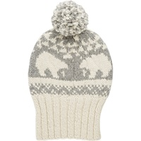 Polar Bear Beanie Gray