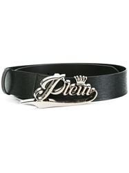 Philipp Plein 'Konia' Belt Black
