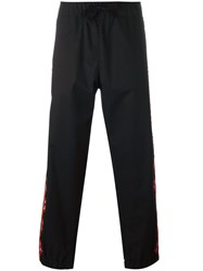 Stella Mccartney Side Embroidered Trousers Black