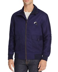 Barney Cools Blue Toucan Flight Jacket