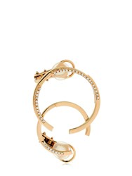 Dauphin Volume Rose Gold And Diamond Mono Earring
