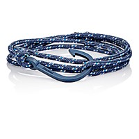 Miansai Men's Hook On Rope Wrap Bracelet Navy