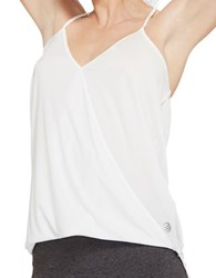Mpg Relaxed Yoga Tank Top White