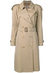 Burberry The Westminster Trench Coat Neutrals