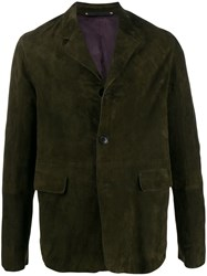 Paul Smith Straight Fit Suede Jacket 60