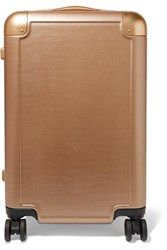 Calpak Jen Atkin Carry On Metallic Hardshell Suitcase Gold