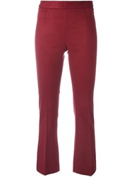Ermanno Scervino Flared Cropped Trousers