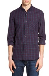 French Connection Men's Check Twill Sport Shirt