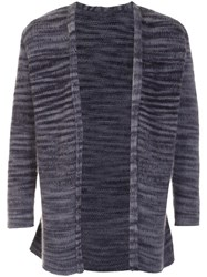 The Elder Statesman Open Cardigan Grey