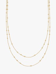 Missoma Double Chain Necklace Gold