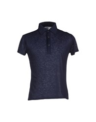S.O.H.O New York Soho Topwear Polo Shirts Men Dark Blue