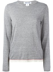 Comme Des Garcons Knitted Top Grey