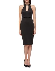 Guess Bubble Key Little Black Dress