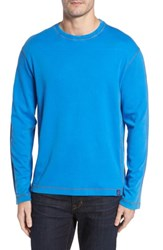 Thaddeus Men's Kenyon Long Sleeve T Shirt Blue Lacquer
