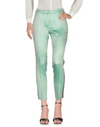 Femme By Michele Rossi Casual Pants Green