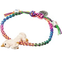 Venessa Arizaga Rainbow Unicorn Ceramic Bracelet Multi
