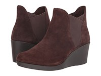 Crocs Leigh Wedge Chelsea Boot Espresso Boots Brown
