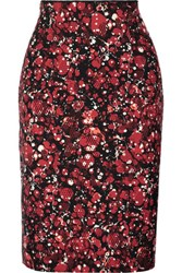 M Missoni Pleated Printed Cady Skirt Multi
