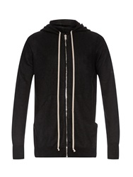 Rick Owens Boiled Cashmere Hooded Sweater