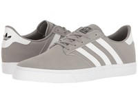Adidas Seeley Premiere Charcoal Solid Grey Footwear White Footwear White Men's Skate Shoes Charcoal Solid Grey Footwear White Footwear White