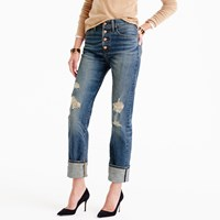 J.Crew Point Sur High Rise Stacker Jean