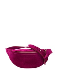 Nanushka Smooth Texture Belt Bag Purple