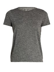 Outdoor Voices X A.P.C Crew Neck Jersey Performance T Shirt Grey