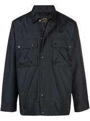 Carhartt Wip Waterproof Flap Pocket Jacket Blue