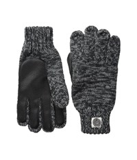 Obey Boulder Gloves Heather Charcoal Extreme Cold Weather Gloves Gray