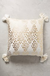 Anthropologie Marcona Pillow Gold