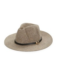 Vince Camuto Wool Blend Panama Hat Tan