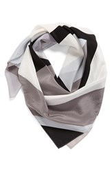 Halogenr Women's Halogen Cubist Rose Square Silk Scarf