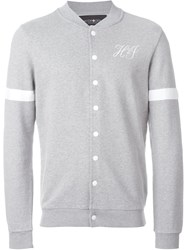 Hydrogen Button Sweat Jacket Grey
