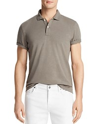 Bloomingdale's The Men's Store At Slub Jersey Enzyme Wash Classic Fit Polo 100 Exclusive Light Olive
