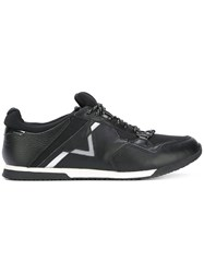 Diesel Fury Sneakers Men Leather Polyester Rubber 43 Black