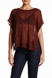 Zadig And Voltaire Printed Crew Neck Sweater Red