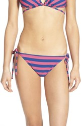 Junior Women's Bp. Stripe Side Tie Bikini Bottoms