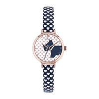 Radley Ry2378 Women's Love Heart Leather Strap Watch Fig White